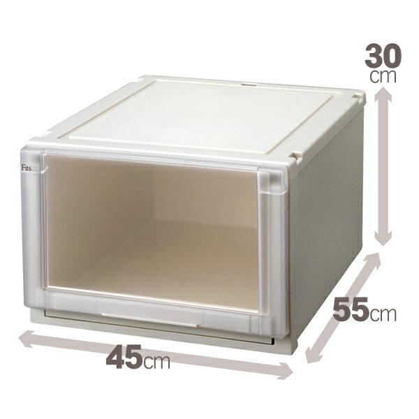 【クーポン対象品】天馬 (Fits)フィッツユニットケース4530 単品販売新しい発想と知恵が、「収納ケース」を一新しました。