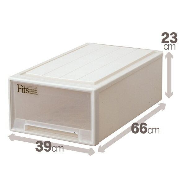 天馬 フィッツケース(ミドル)収納ケースといえばFitsケース。押入れ収納シリーズ!