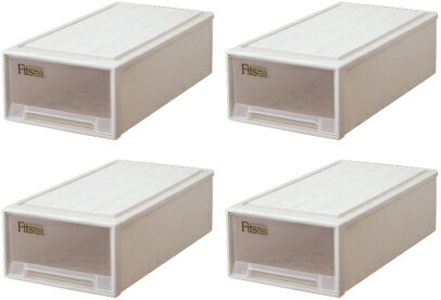 天馬  フィッツケース(ロング)『お買い得4個セット』収納ケースといえばFitsケース。押入れ収納シリーズ!【あす楽対応】