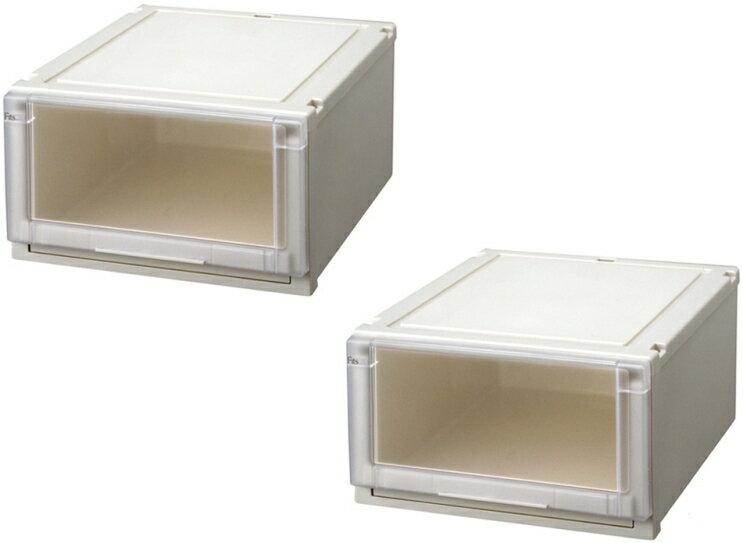 【クーポン対象品】天馬 (Fits)フィッツユニットケース4525お求めやすい2個セット新しい発想と知恵が、「収納ケース」を一新しました。