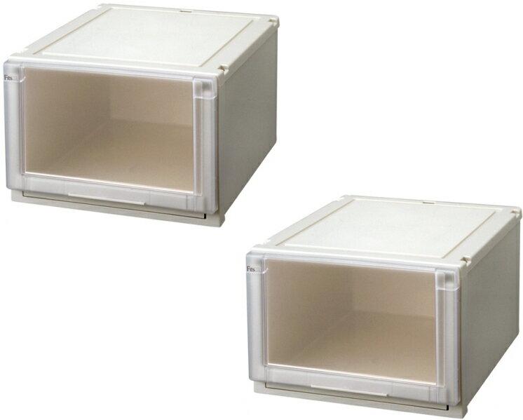 【クーポン対象品】天馬 (Fits)フィッツユニットケース4530お求めやすい2個セット新しい発想と知恵が、「収納ケース」を一新しました。