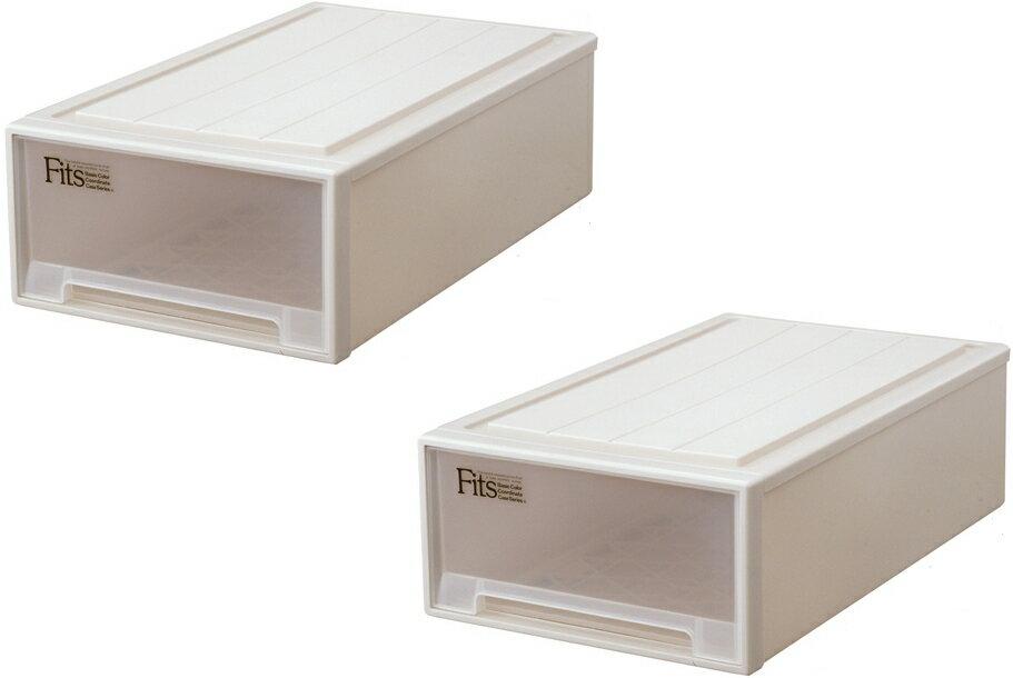 天馬 フィッツケース(ロングL)『お求めやすい2個セット』収納ケースといえばFitsケース。押入れ収納シリーズ!