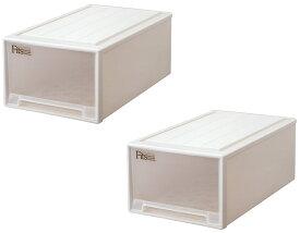 天馬 フィッツケース ディープL【お求めやすい2個セット】収納ケースといえばFitsケース 押入れ収納シリーズ