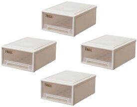 天馬 フィッツケース リトル【お求めやすい4個セット】収納ケースといえばFitsケースリビング収納シリーズ