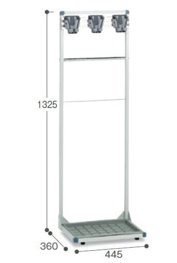 コアラコンパクトハンガー(3本掛)CE-492-013-0〜テラモト〜『モップハンガー』『小型常設タイプ』