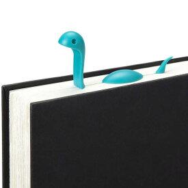 ネッシー風の恐竜タイプなしおり。辞書にペンをはさんで、そのまま忘れて辞書をしまってペンを紛失してしまうあなたにこそ使ってほしい