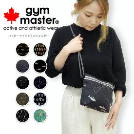 gym master(ジムマスター) ミニショルダーバッグ 斜め掛けバッグ 斜めがけバッグ軽量 メンズ レディース フェス アウトドア (g433619)