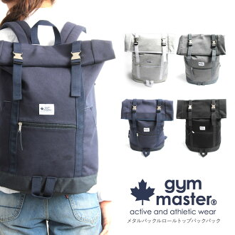 gym master (jam master) sweatshirts buckle backpack roll top backpack daypack bag bag mens Womens unisex unisex solid