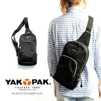 YAPA (杰克包) 尸体袋一肩身体包女装男装中性迷你肩尼龙