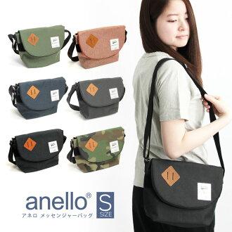 Anello 숄더백 アネロ 숄더백 메신저 백 미니 숄더 S 크기 기울기 하는 도중 가방 여성용 남성용 남녀 공용 유 니 섹스 (au-a0131p)