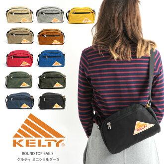 Kelty shoulder vintage round top shoulder bag S size mini shoulder bags mens Womens unisex outdoor