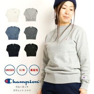 Champion (champion) sweat shirt pullover back raising trainer basic plain lady's (c3-c024)