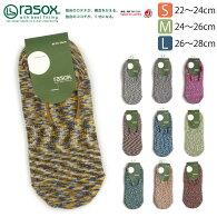 rasox(ラソックス)スプラッシュ・カバーカバーソックスショートソックススニーカーソックス日本製男女兼用
