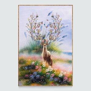 刺繍キット 刺繍 クロスステッチ 夢幻トナシカ 初心者 図案印刷 指ぬき 糸通し付き 壁アート 壁飾り