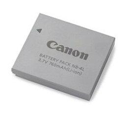 CanonバッテリーパックNB-4L