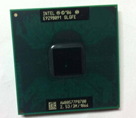 Intel インテル Core 2 DUO P8700 モバイルCPU 2.53GHz 1066MHz 3MB ソケット P - SLGFE