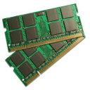 BUFFALO DDR2 667MHz SDRAM(PC2-5300) 200Pin S.O.DIMM 2GB 2枚組 A2/N667-2GX2 ノートPC用増設互換メモリ
