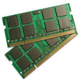 新品 BUFFALO ノートPC用増設メモリ PC3-8500(DDR3-1066)対応 DDR3 SDRAM S.O.DIMM 2枚組 A3S1066-2GX2