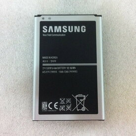 「中古」純正 Samsung サムスン B800BE、B800BK、B800BU;SAMSUNG Galaxy Note シリーズ、SM-N9000 シリーズ 対応 スマートフォン バッテリー