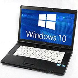 富士通 Lifebook 中古ノートパソコン 中古パソコン Windows10 12インチから Celeron/Core2Duo HDD320GB メモリ4GB DVDROM 無線LAN シークレットパソコン Office付き可能 Windows7に変更可能/美品/送料無料