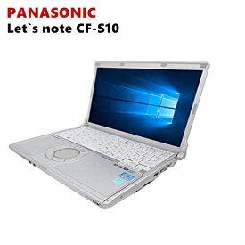 Panasonic Let's Note CF-S10シリーズ/第2世代Core i5/メモリー8GB/新品SSD:120GB 1年保証付き/DVDドライブ/12.1インチ/USB 3.0/無線LAN搭載/正規版Officeソフト搭載/中古ノートパソコン モバイルPC Windows10 Win10 中古パソコン ウルトラPC 持ち運び便利