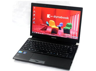 Used goods notebook PC used personal computer changeable to note PC dynabook Windows7 & SSD with 13 inches of used note PCs thin mobile TOSHIBA Dynabook Type R windows10 deployment Corei5 memory 4GB HDD250GB wifi incorporation office