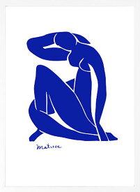 【絵画 アートパネル 壁掛け 専門店】アートフレーム/アートポスター アンリ・マティスBlue Nude(アートパネル アートフレーム アートポスター 北欧 絵画 インテリア ポスター 壁掛け)