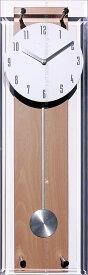 壁掛け時計 掛け時計 ウォールクロック TICKAWAY 振り子時計 電波時計 おしゃれ シンプル 北欧 木製 かわいい 造花 デザイナーズ アンティーク モダン インテリア 高級 贈答品 新築祝い