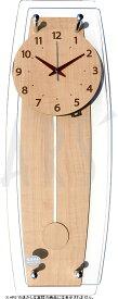 壁掛け時計 掛け時計 ウォールクロック NOA 振り子時計 電波時計 おしゃれ シンプル 北欧 木製 かわいい 造花 デザイナーズ アンティーク モダン インテリア 高級 贈答品 新築祝い