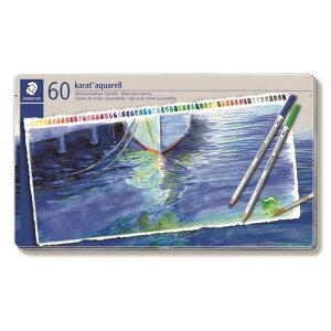 【日本正規品】 ステッドラー (STAEDTLER) カラトアクェレル 水彩色鉛筆 60色セット 125M60