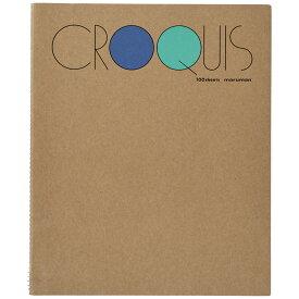 マルマン クロッキーブック SMLシリーズ Mサイズ 白クロッキー紙 100枚 SM-02