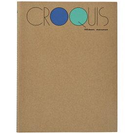 マルマン クロッキーブック SMLシリーズ Lサイズ 白クロッキー紙 100枚 SL-02