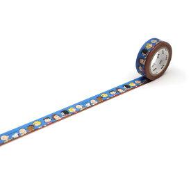 【ネコポス可】カモ井加工紙 mt Peanuts みんなでおしゃべり MTPNUT01 (15mm×7m)マスキングテープ マステ 紙テープ 和紙テープ 貼って剥がせる はってはがせる クラフト デザイン ラッピング