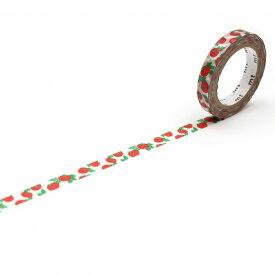 【お買い物マラソン限定ポイント2倍】 【ネコポス可】カモ井加工紙 SOU・SOU トマト MTSOU13 (7mm×7m) マスキングテープ マステ 紙テープ 和紙テープ 貼って剥がせる はってはがせる クラフト デザイン ラッピング