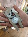 ペット キーホルダー ネックレス(時計付き) ナースウォッチ 似顔絵 プレゼント サプライズ 立体時計 かわいい時計 手…