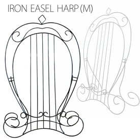 アイアンイーゼル ハープ(M)(IRON EASEL SERIES) ※A3サイズ対応 ディスプレイ用
