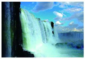 ポストカード5枚で【送料無料】ブラジル側 イグアスの滝 風景 写真 ポストカード ギフト お祝い プレゼント お手紙 絵はがき 旅の思い出 ポストカード(南アメリカの名所) 美しい風景写真