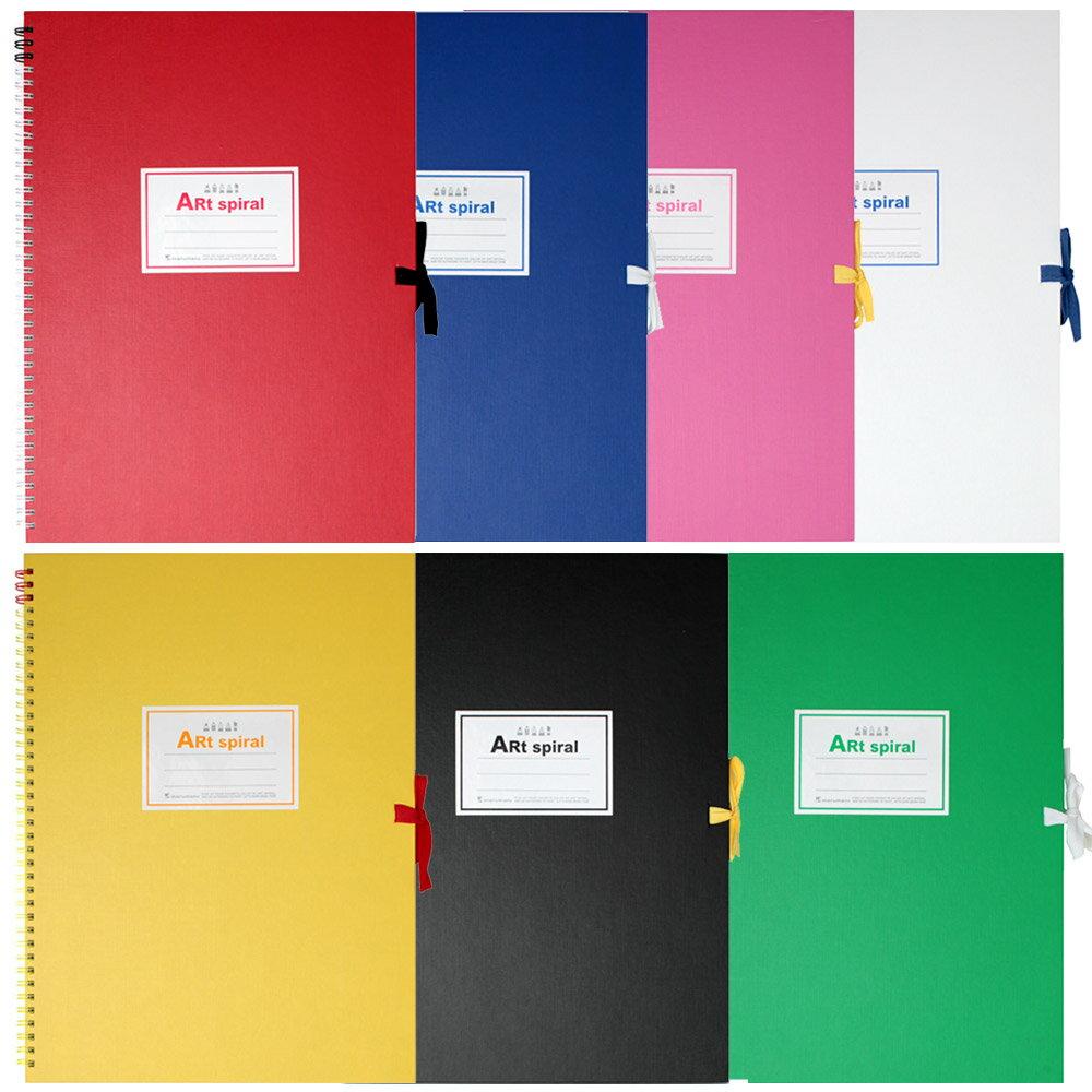 スケッチブック アートスパイラル F4(333×242mm) 画用紙厚口 24枚 S314【maruman/マルマン】[DM便不可]