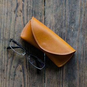 【30%ポイントバック!】メガネケース革名入れおしゃれかわいいめがねけーす眼鏡ケースレザー牛革ギフトプレゼント黒ブラックチョコキャメル茶ブラウン赤レッドネイビー紺