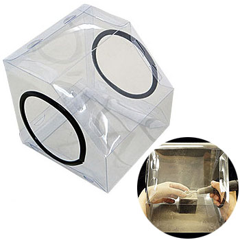 コンパクト防塵ボックス