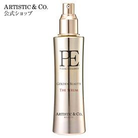 導入美容液 美顔器 美容液 エイジングケア P.E ゴールデンビューティー ザ セラム 120ml ARTISTIC&CO.公式