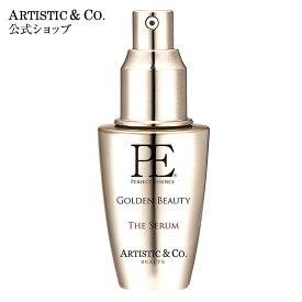 導入美容液 美顔器 美容液 エイジングケア P.E ゴールデンビューティー ザ セラム 40ml ARTISTIC&CO.公式
