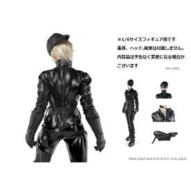 c5be9cea0acef ドールズフィギュア cc232 1 6フィギュア用衣装 女性ブラックボディスーツセット (DOLLSFIGURE