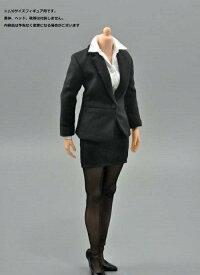 ZY-TOYS 1/6フィギュア用衣装 女性 ビジネススーツセット スカートスタイル(ZY-1029A)