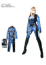 09ab7f1a6c0a5 ドールズフィギュア cc61B 1 6フィギュア用衣装 ボンデージキャットスーツ 青 黒タイプ