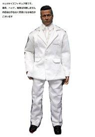 1ce7e8a1a9716 ドールズフィギュア FT167 1 6フィギュア用衣装 男性用 白のスーツセット (