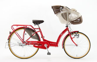 Pick up a BAA three-passenger child; bicycle SOGO チヤオフレンドスパーハイデラックス [design the stake frame to sway] CHF26B SHDX (there is no shifting) (infant two ride standard conformity car)