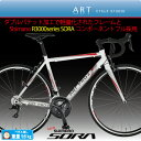 "Made in Japan ロードバイク シマノ""3000series NEW SORA""フル採用 ART PRO2 アルミロード A870 独自のアルミダブル..."