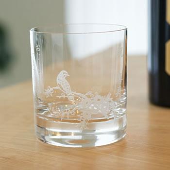 【名入れ】ロックグラス(梅柄)シングル【父の日2019】 【ガラス グラス 贈り物 記念品 オリジナル ギフト プレゼント おすすめ かっこいい おしゃれ オシャレ お洒落 ウィスキー お父さん 誕生日 還暦祝い 古希 喜寿 傘寿 米寿 卒寿 白寿】