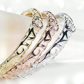 ◆K10WG/YG/PG アンティーク ダイヤモンドリングおしゃれ 可愛い 華奢 指輪 ダイヤ ダイア ゴールド クラシカル 4月誕生石 送料無料 代引手数料無料 品質保証書 ギフト 重ね着け diamond ring